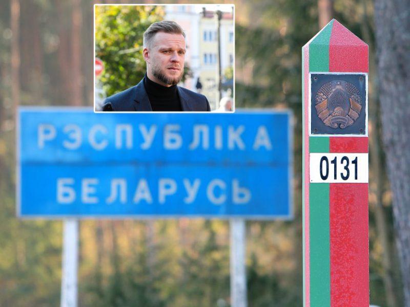 G. Landsbergis įvertino Baltarusijos veiksmus: tai Europos centre siautėjanti diktatūra