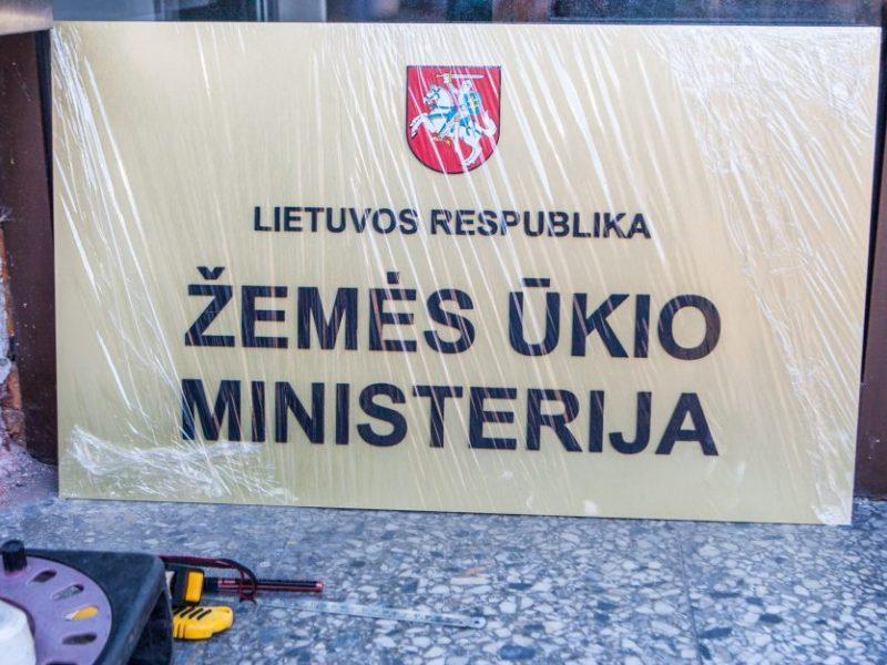 """""""Valstiečiai"""" neleido opozicijai pateikti rezoliucijos dėl ŽŪM nebekėlimo į Kauną"""