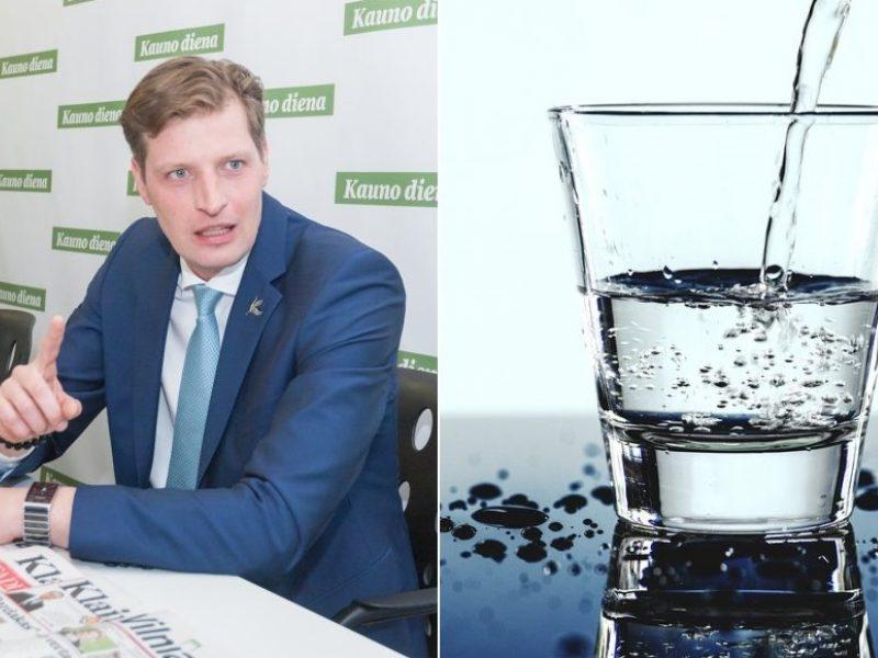 """Ministras: gėlo vandens turime pakankamai, tačiau yra vienas """"bet"""""""