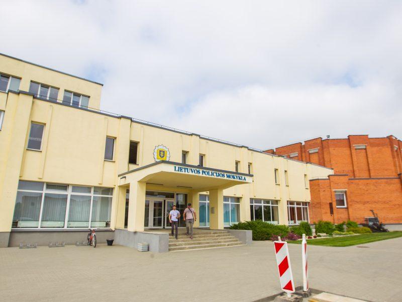 Dėl remonto Lietuvos policijos mokykloje vis dar verda aistros
