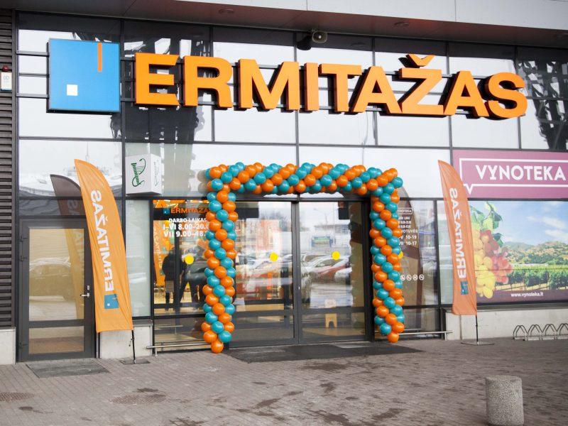 """Kaune atidaryta antroji """"Ermitažo"""" parduotuvė: stebina asortimentas"""