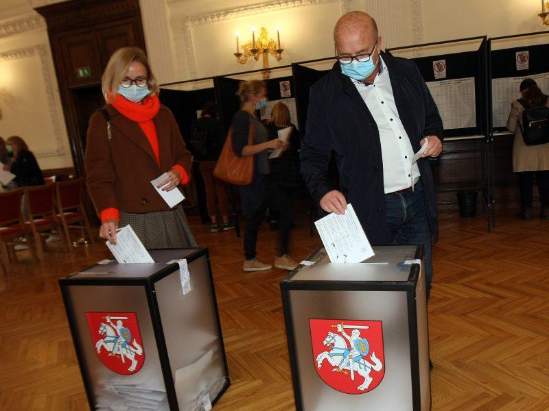Iš anksto balsavęs Kauno meras V. Matijošaitis: visi mes keisti ir skirtingi