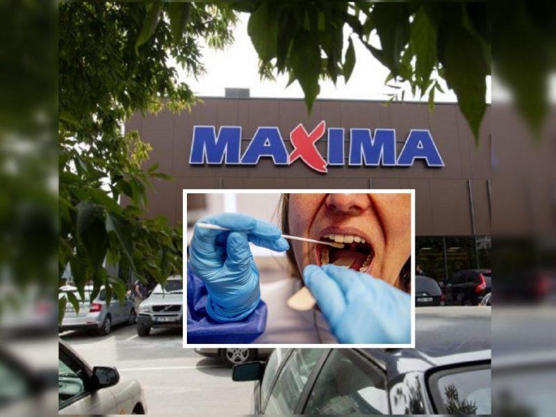"""Koronavirusas nustatytas dar 14 """"Maximos"""" darbuotojų"""