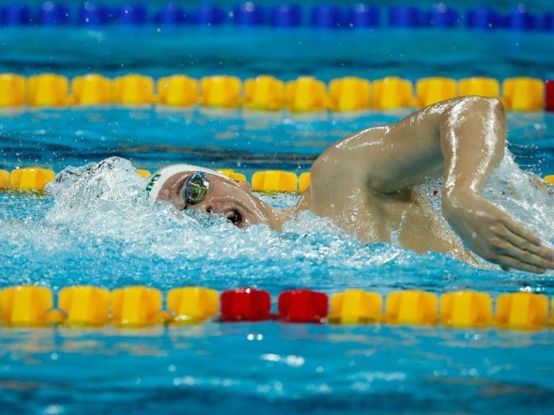 Plaukikas D. Rapšys Pietų Korėjoje pateko į pusfinalį