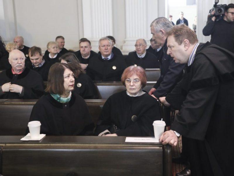 Europarlamentarų darbotvarkėje – Rusijos vykdomas Lietuvos teisėjų persekiojimas