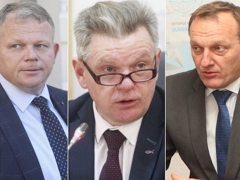 Įvardinti trys galimi kandidatai į naujus ministrus