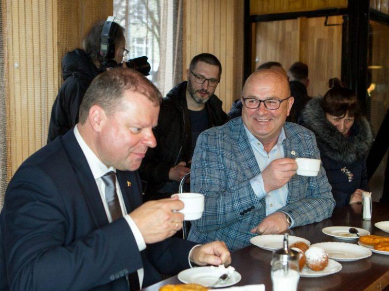 Kauno meras: Seimo rinkimuose remsiu S. Skvernelį