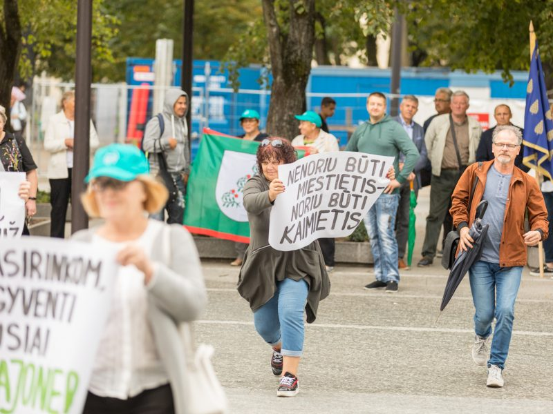 Kauno rajono gyventojai piketuos – nenori jungtis prie miesto