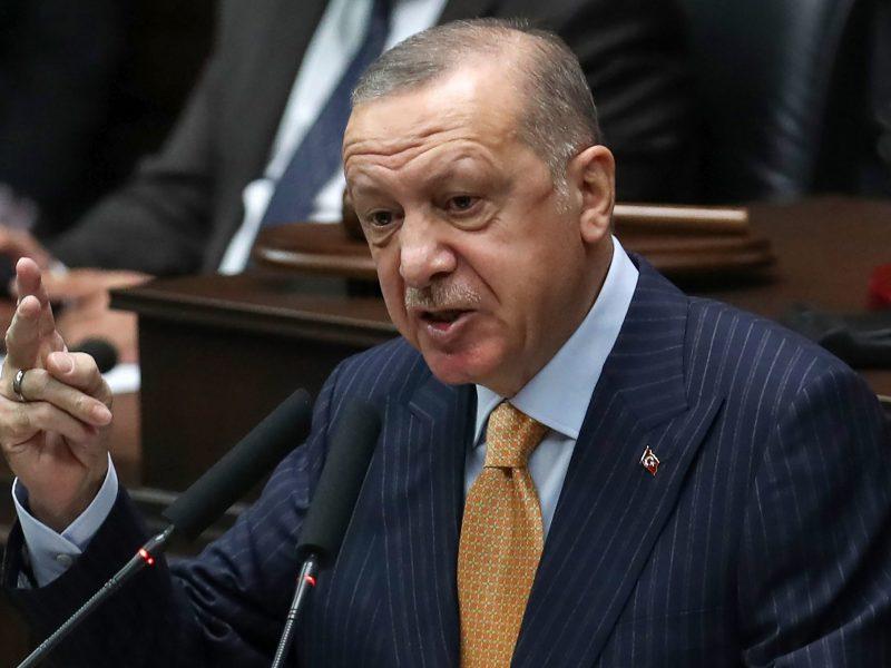 R. T. Erdoganas reikalauja dviejų valstybių sprendinio Kiprui