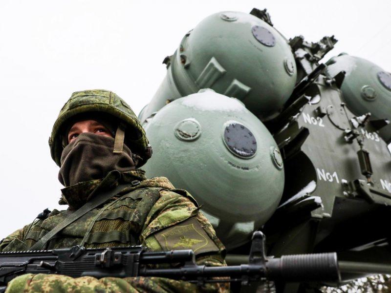 Prezidentūra: padėtis Rusijos-Ukrainos pasienyje primena padėtį prieš užgrobiant Krymą