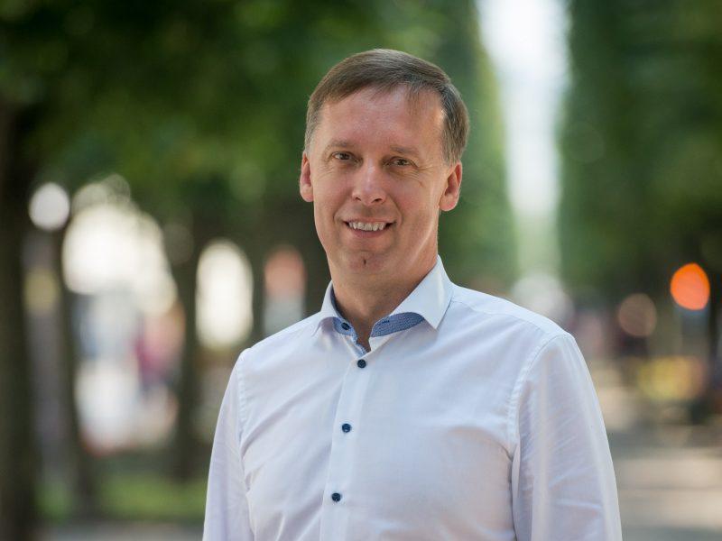 Kauno liberalai turi naują pirmininką: S. Kairį keičia S. Šliažas