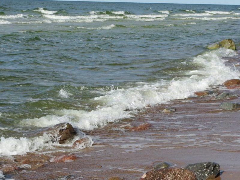 Jūra į krantą išplukdė vyro lavoną