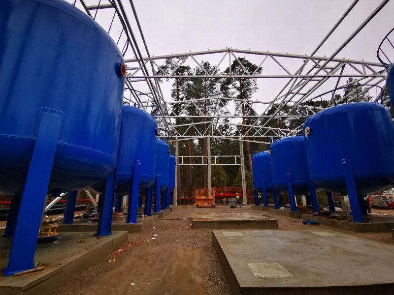 Dėl vykdomų darbų Vičiūnų vandens gerinimo įrenginiuose – galimi laikini nepatogumai