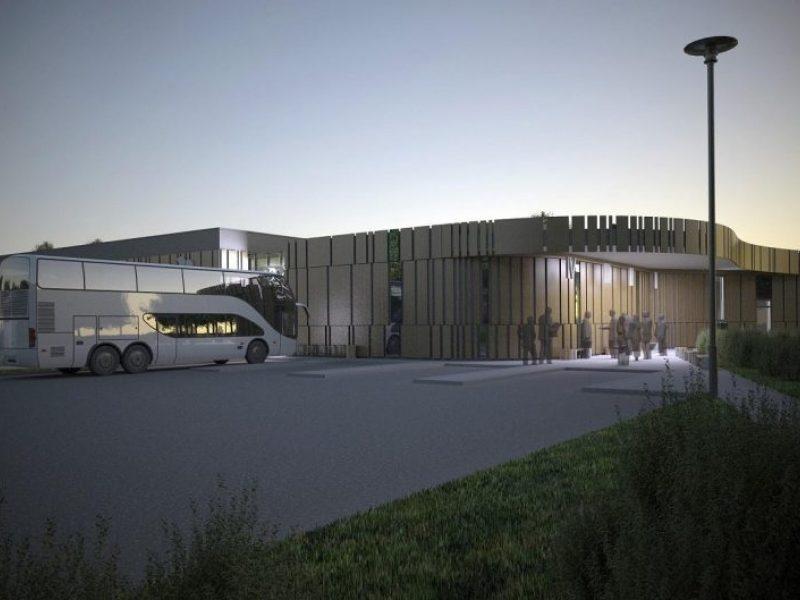 D. Nedzinskui leista rekonstruoti Trakų autobusų stotį, darbų pradžia – metų pabaigoje