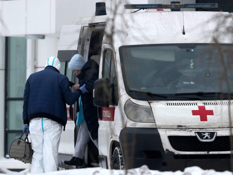 Rusijoje – beveik 29 tūkst. nauji COVID-19 atvejai, mirė 511 užsikrėtusiųjų