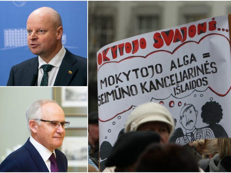 Pasirašyta kolektyvinė sutartis su švietimo profsąjungomis: streiko nebebus?