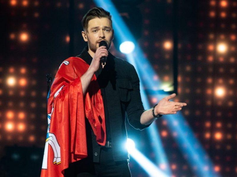 """J. Veklenko pasirodys antrajame """"Eurovizijos"""" pusfinalyje"""