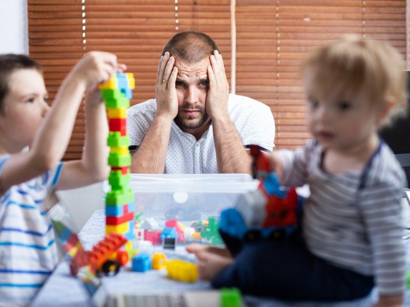 Kauniečio šeimoje – painiava dėl COVID-19: teigiamo atsakymo sulaukė tik vienerių metų sūnus