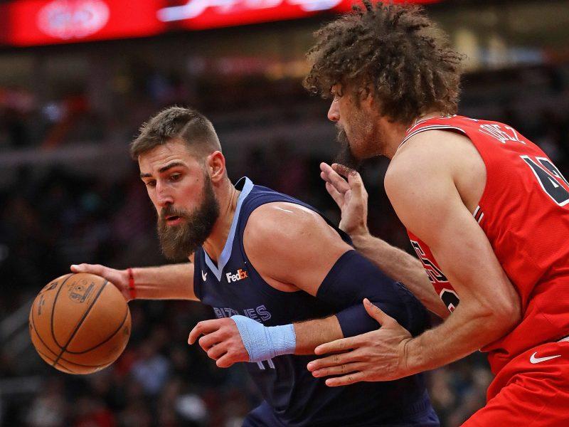 Akistatoje su NBA čempionais J. Valančiūnas vėl sprogo rezultatyvumu