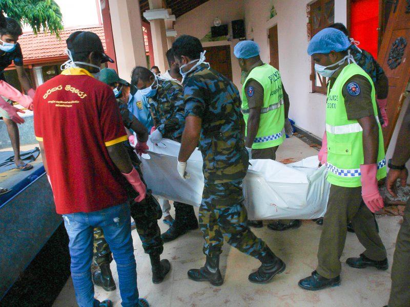Po teroro išpuolių Šri Lankoje sulaikyti 7 įtariamieji