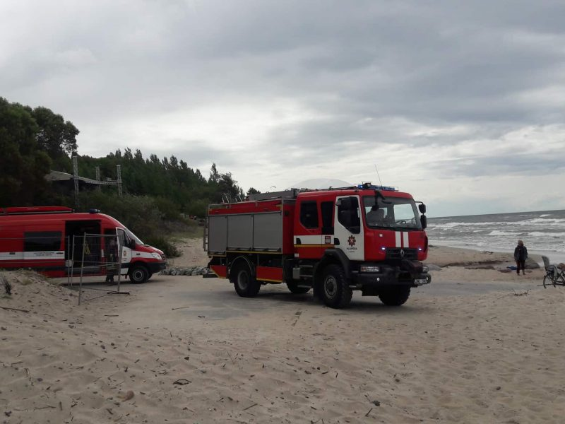 Nutraukta gelbėjimo operacija Karklėje