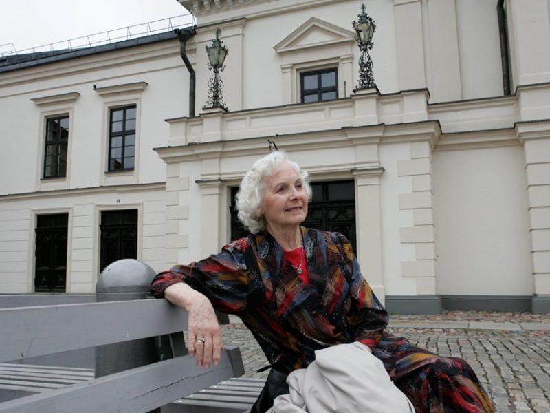 Mirė aktorė M. Černiauskaitė-Barauskienė
