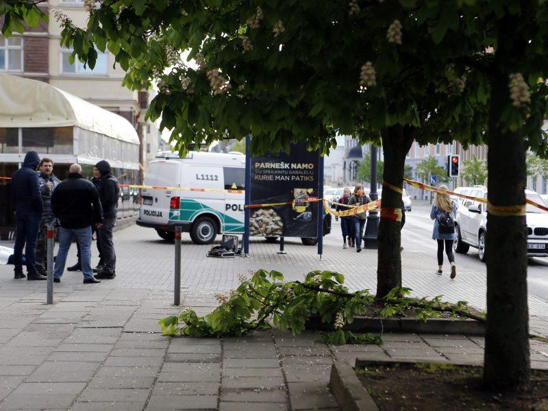 Policininkas Klaipėdoje iškrito iš medžio