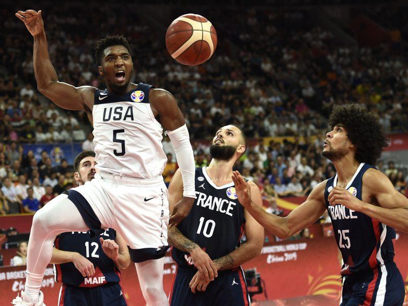JAV krepšininkai sensacingai pralaimėjo prancūzams
