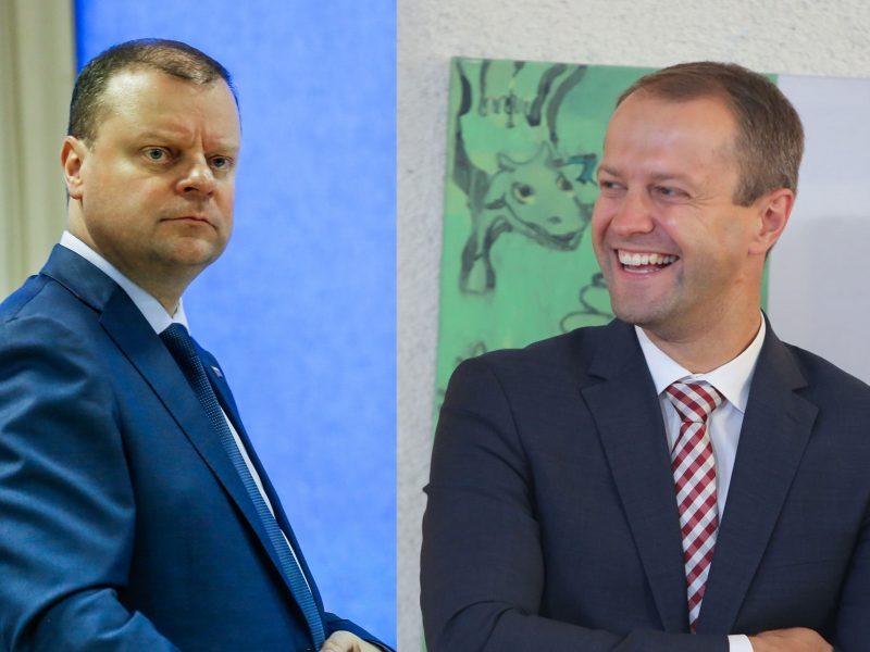 S. Skvernelis neigia gandus apie D. Misiūno galimybes tapti Klaipėdos uosto vadovu