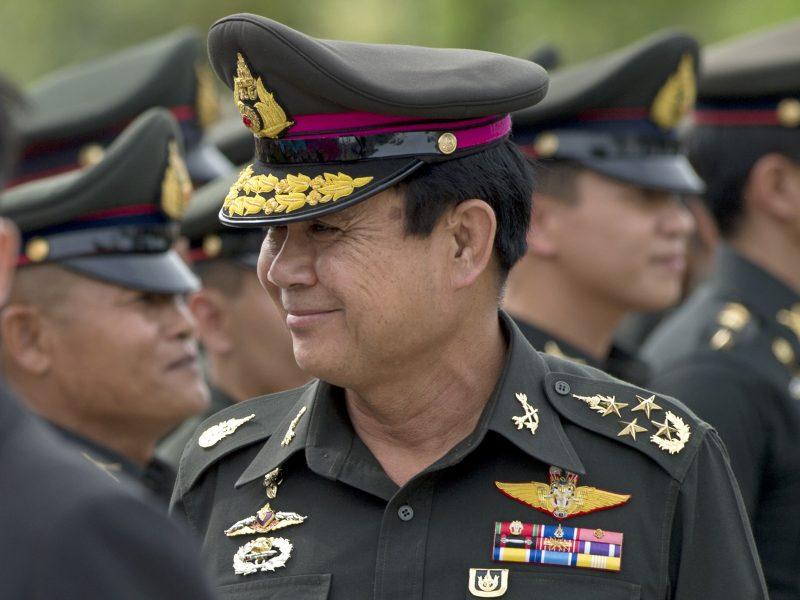 Tailande premjeru paskirtas karinės chuntos lyderis
