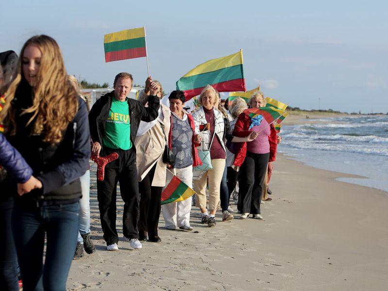 Klaipėdiečiai prisimins Baltijos kelią