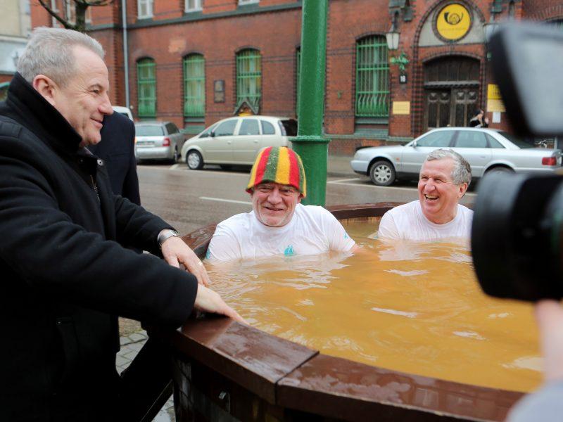 Ministras – už geoterminį vandenį mieste