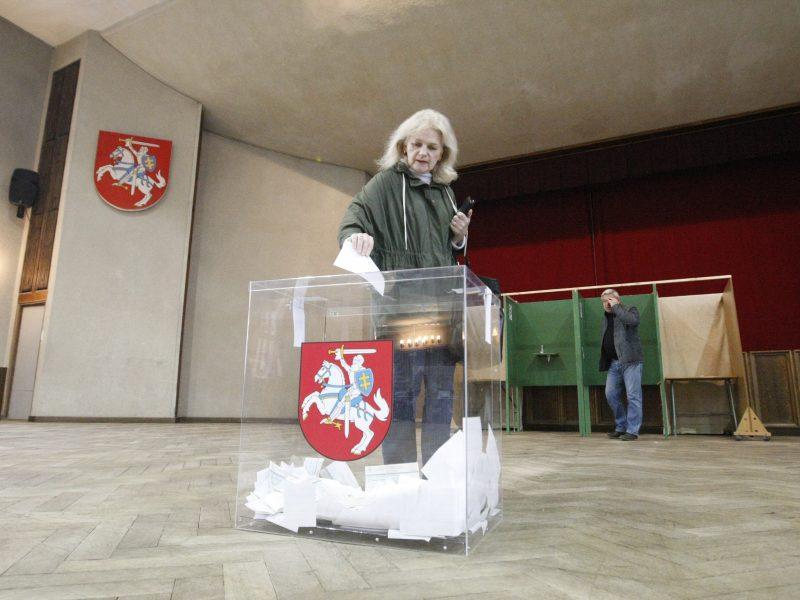 Skaidriems rinkimams – neskaidrios balsadėžės