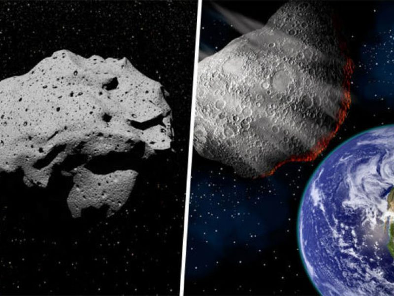 Atskrieja keturi asteroidai?