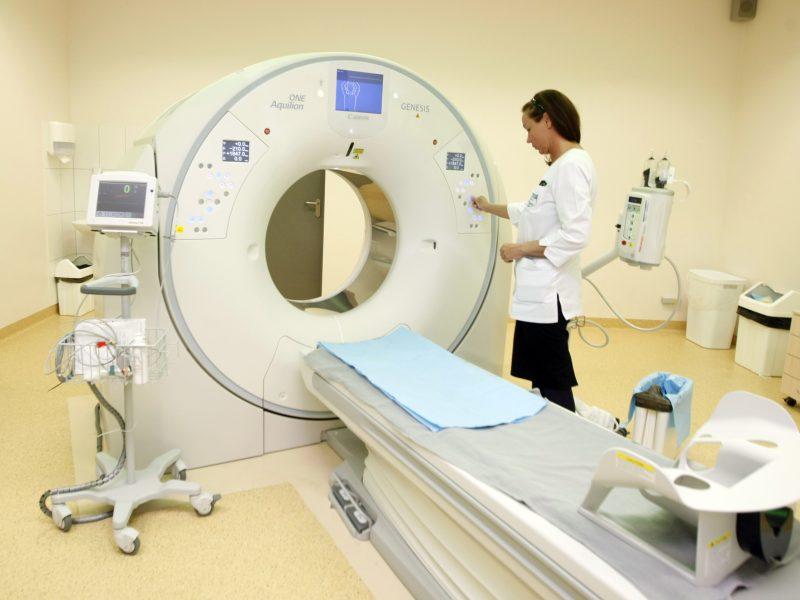 Naujas kompiuterinis tomografas keičia požiūrį į diagnostiką