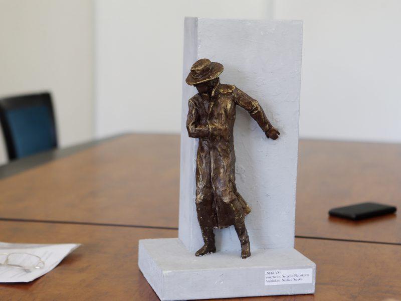 Klaipėdoje stovės bronzinis seklys