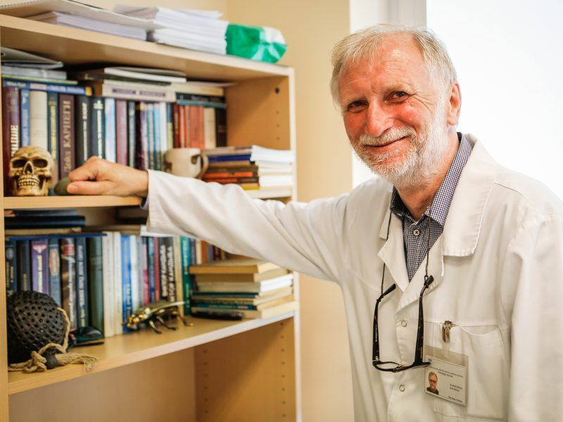Patologo darbas – be galimybės klysti