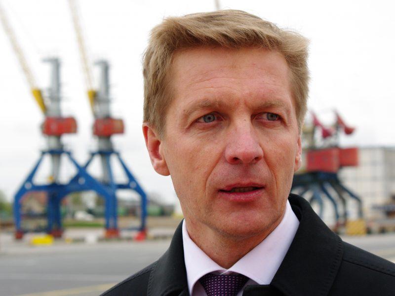 VTEK: buvęs uosto vadovas A. Vaitkus pažeidė įstatymą