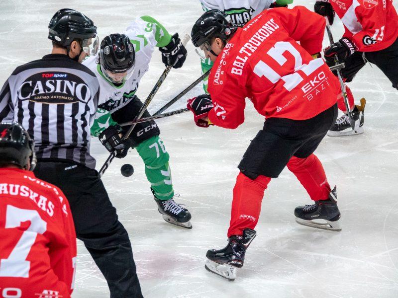 Šventinio savaitgalio Kaune kulminacija – ledo ritulio lygos lyderių akistata