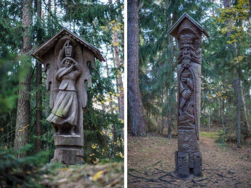 Raganų kalnui – 40: netikėti faktai apie skulptūrų parką Juodkrantėje