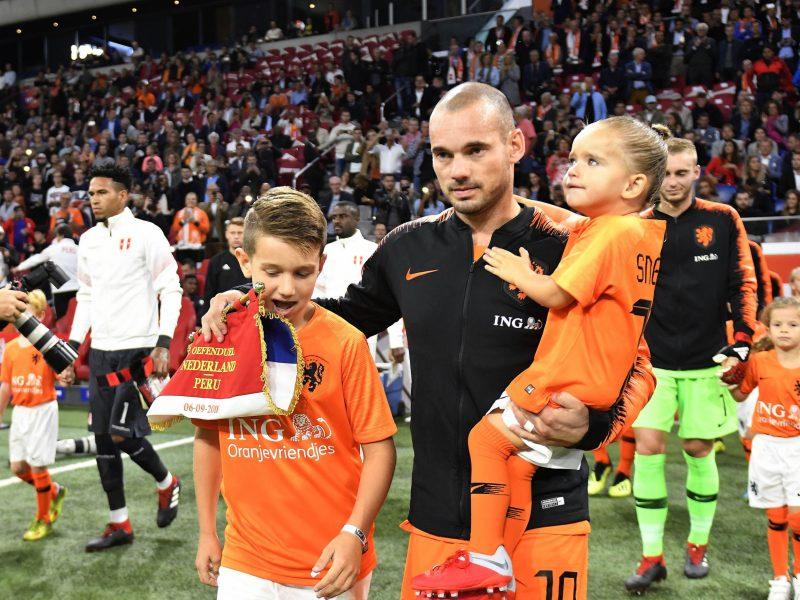 Olandijos futbolininkas W. Sneijderis patvirtino baigiantis karjerą