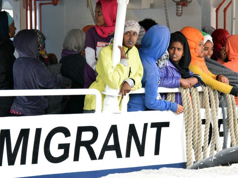 Šiemet Viduržemio jūra Europą jau pasiekė 237 tūkst. migrantų