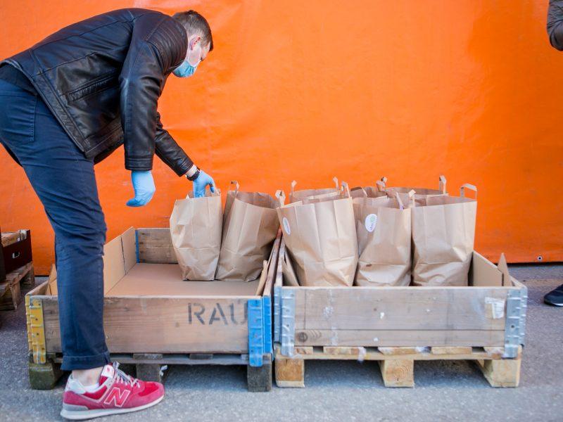 Kauniečius pasiekė SBA savanorių parama