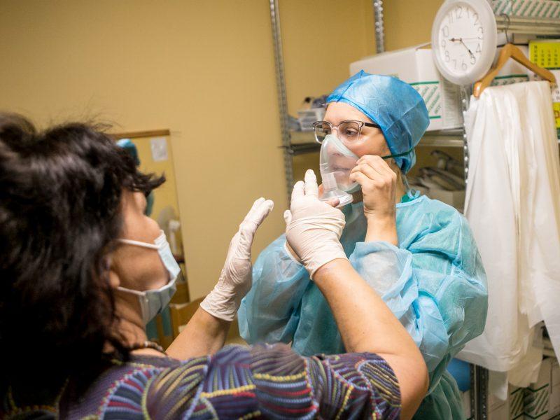 LSMU Kauno ligoninėje daugėja COVID-19 pacientų