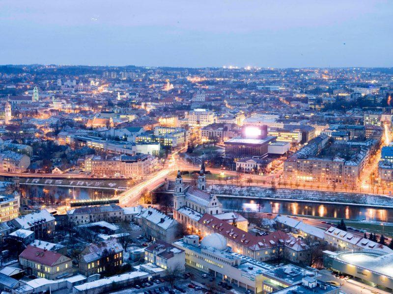 Miestų, kuriuose geriausia gyventi, reitinge Vilniui vėl atiteko 81 vieta