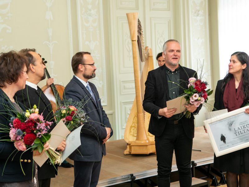 Kultūros ministerijos apdovanojimų įteikimas