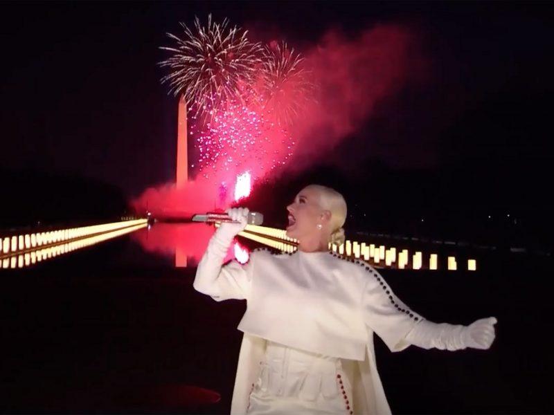 Drauge su J. Bidenu jo inauguraciją šventė žvaigždės