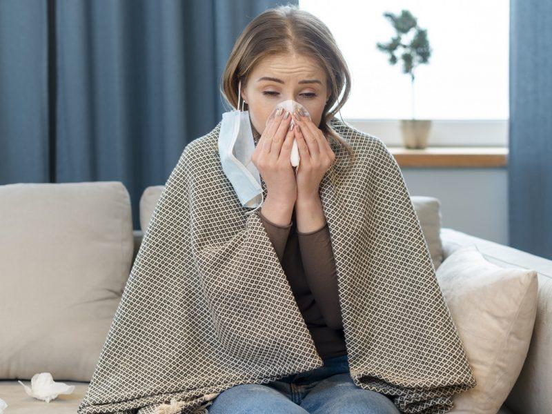 Daugiausia naujų koronaviruso atvejų – Kauno apskrityje