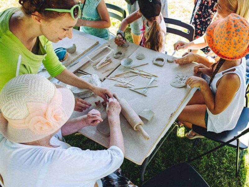 Molio dirbtuvės Eiguliuose: kviečia kurti bendruomenės mozaiką
