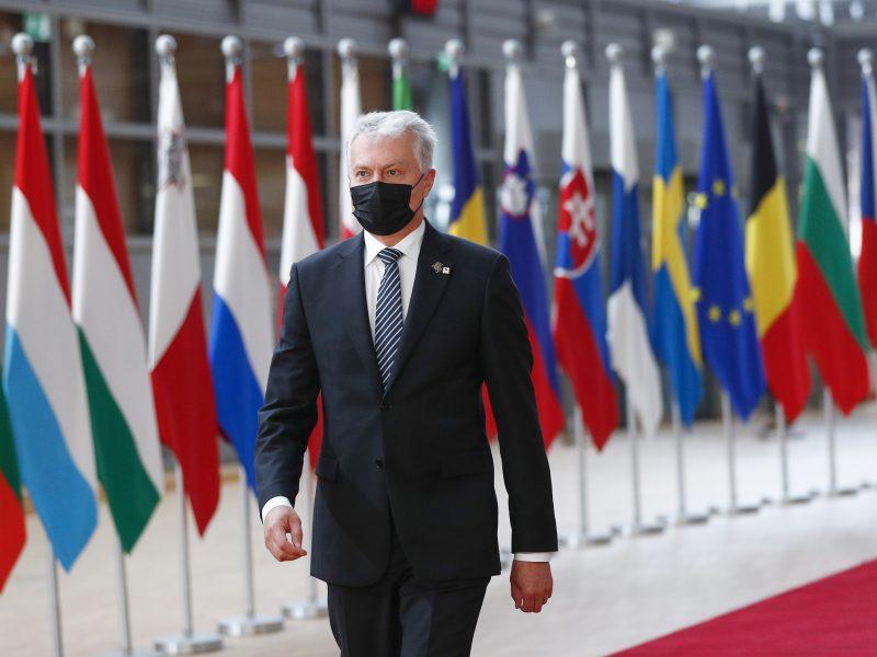 G. Nausėda: gilesniu dialogu su Maskva ES ignoruotų principus, kuriais vadovaujasi